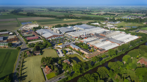 Luftbild/Aerial picture: Röchling Engineering Plastics KG, Haren/Germany