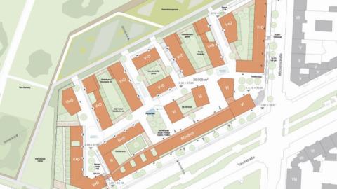 Wohnungs- und Gewerbebau Möckernkiez, Berlin